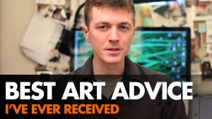 Best Art Advice Received - Video by ClintCearley