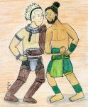 The Vaike V.S. The Boulder by SirWongIII