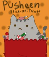 Pusheen fall theme entry! by Oliviadoingalltheart