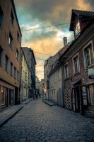 One Afternoon in Old Tallinn by myst111