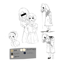 Second OC! The Hobby Horse SKETCHES by TheHobbyHorse