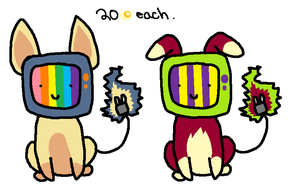 TV Dogs Adopts by ChammiBee