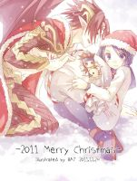 2011 Merry  Christmas by coumori