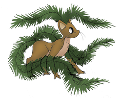 Fakemon: 002 Fernirral V3 by bubblewrap-pancakes