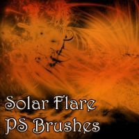 Solar Flare Brushes by pswonderland2