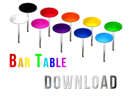 DOWNLOAD: Bar Table by BennyBrutt