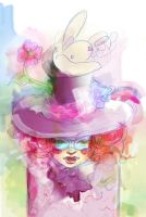 ME AS THE MAD HATTER... GIRL by pochis