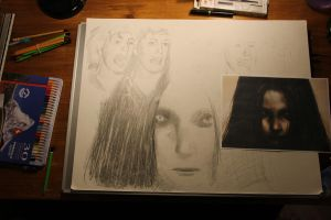 Faces of F.E.A.R. WIP 1 of 2 by Joshua-Mozes