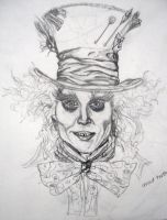 Mad Hatter by WhiteShadow18