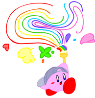 Paint Kirby by crystalkirby