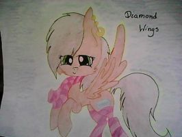 Diamond Wings by troublemaker1230