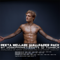 Peeta Mellark Wallpaper Pack by josephine12cute