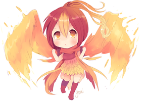 Phoenix Girl Adopt [CLOSED] by Yoai