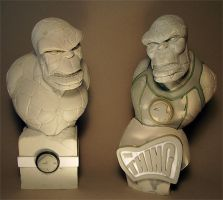 The Thing Fantastic Four by figuralia