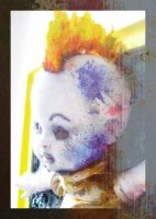 Punk Doll Side View digital remix Version by MushroomBrain