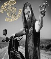 SONS OF ANARCHY opie by shamefhc