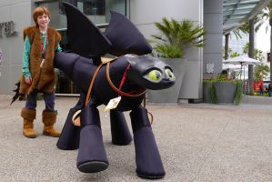 How To Train Your Dragon SDCC 2014 by makepictures