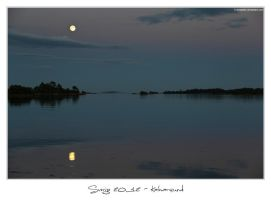 Sverige 2012 - Night over Kalmarsund by 51ststate