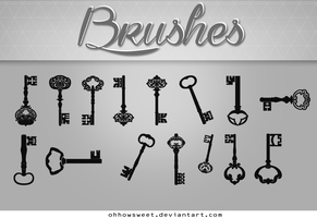 Brushes - Keys by OhHowSweet
