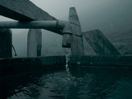 Lone Fountain by kkeman