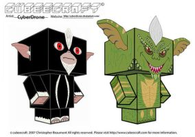 Cubeecraft - Gremlins by CyberDrone