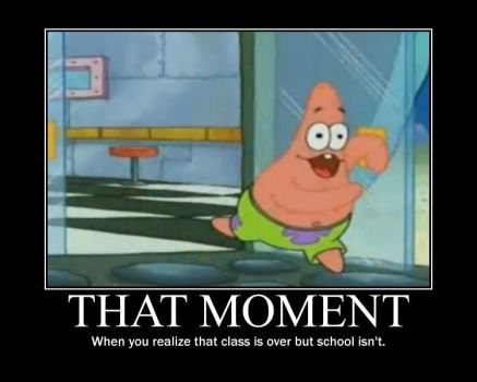 School Ain't Over Patrick by malfunit