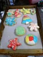 Christmas cookies 2014 pt.1 by flowerpower71