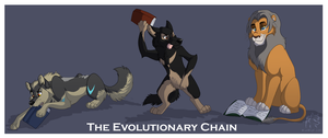 The Evolutionary Chain by WindWo1f
