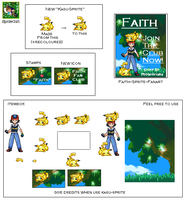 Artbox 'Faith' SpriteArt by SpriteGirl