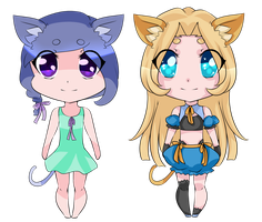 Cute Kitty Adopts Set 1 [POINTS- 1 OPEN] by MikoAdopts