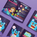 Zenn IE web and brochure design by Lemongraphic