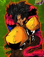 Goku colored by N-A-R-F by Dany-Morales