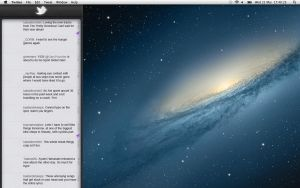 Twitter App concept for OSX Mountain Lion by MCR85