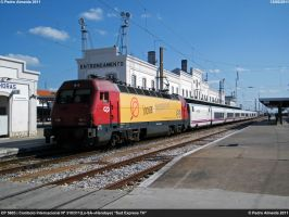 CP 5603 with Sud Express130611 by Comboio-Bolt