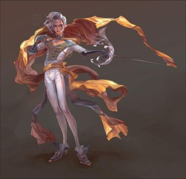 Fencer by Bleuacide