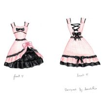 Dress design. by LostInVagueClarity