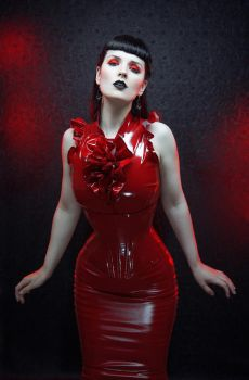 Crimson PVC by vampireleniore