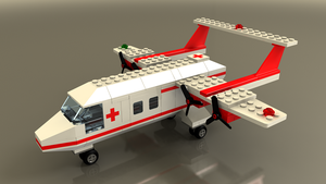 LEGO 6356 Rescue Plane by zpaolo