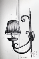 2Sketch 06 (Central Cafe's Sconce) by docthedog