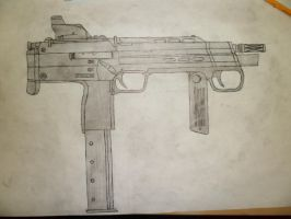 Combine MP7 concept right side by Phenixtri