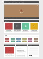 Web Elements PSD by elemis