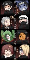 Akatsuki Crack Icons by Mikutashi