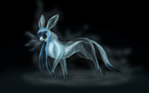 Melting Point the Glaceon by CheezieSpaz