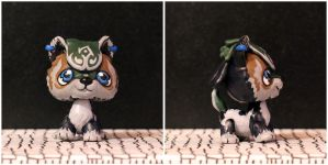 Wolf Link Littlest Pet Shop custom by pia-chu