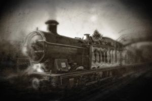the last train by RickHaigh