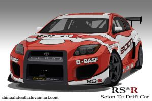 RSR Scion Tc Drift Car Final by shinoahdeath
