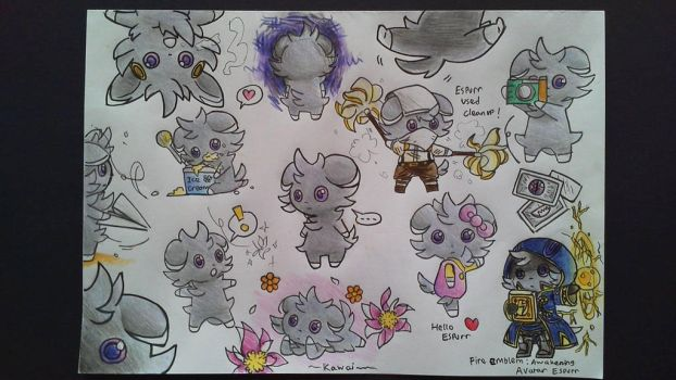 Espurr can do this by DarkPeCook