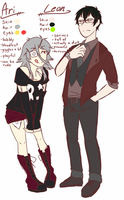 Leon And Ari ref - 2015 by NiniTheWeenie