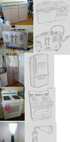 Putting Faces on Appliances Sketches by Smashedatoms