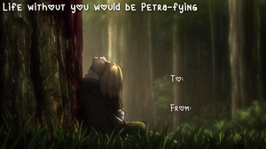 Attack On Titan Valentines by DeadP0n3